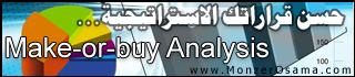 make or buy Analysis